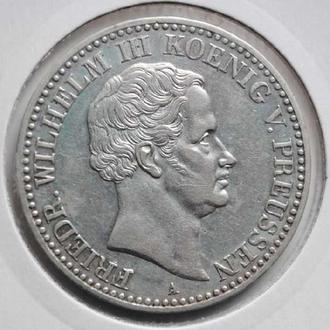 Пруссия 1 талер 1831 г. A, 'Фридрих Вильгельм III (1797 - 1840)', РЕДКОЕ СОСТОЯНИЕ