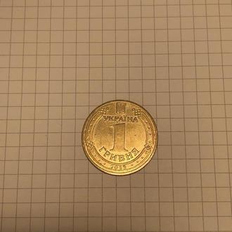 1 гривна Евро 2012
