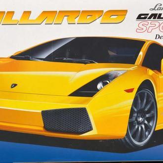 Сборная модель автомобиля Lamborghini  Gallardo Sportec Deluxe + маски и травление  1:25 Fujimi