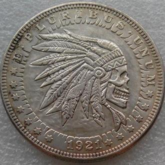 США Доллар 1921 г. Индеец