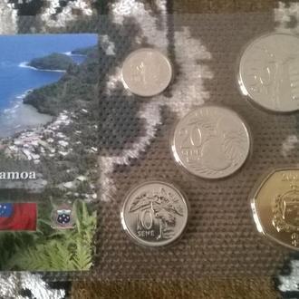 Набор монет САМОА блистер запайка пластик