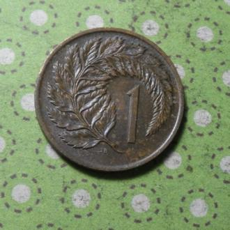 Новая Зеландия 1970 год монета 1 пенни !