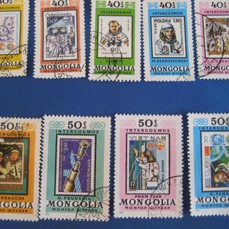 Марки Монголия 1980-1981