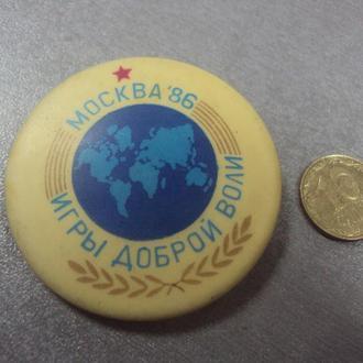 игры доброй воли москва 1986 №5203