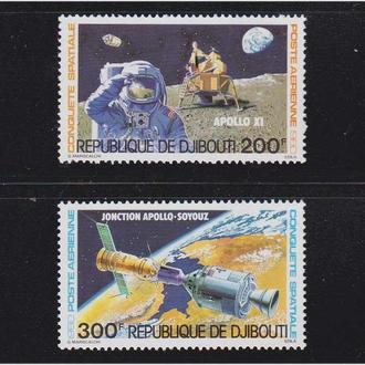 Космос  Джибути 1980 г MNH