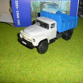 Зил 130 ммз 4502 серо-голубой