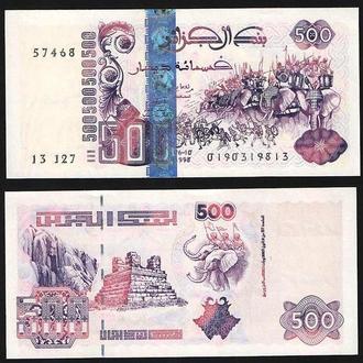 500 динар Алжир UNC