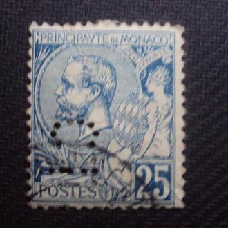 Монако 1891г. гаш. перф.