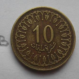 ТУНИС 10 миллим 1996 г.