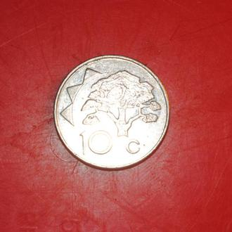 10 центов 1998 г Намибия