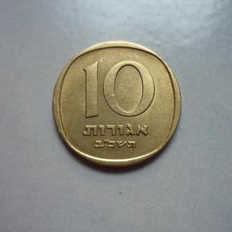 Израиль 10 агор  флора состояние