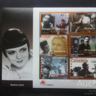 Португалия 1996  кино 3 скана**