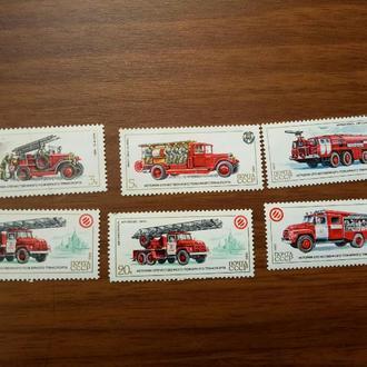 СССР техника 1985 пожарные машины