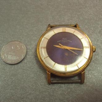 наручные часы луч 23 камня ссср позолота Ау10, механизм позолота №414