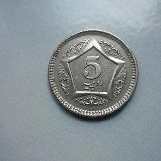 Пакистан 5 рупий 2004