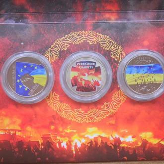 Набор Євромайдан, Революція гідності, Небесна сотня 5 грн. 2015