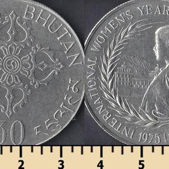 Бутан 30 нгултрум 1975