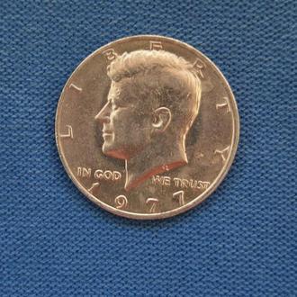 США 50 центов пол доллара 1977 г