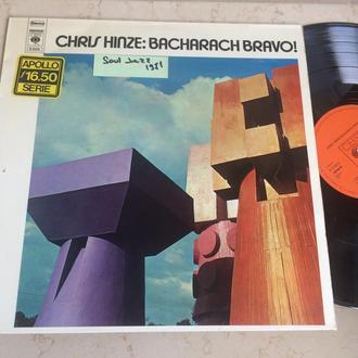 Chris Hinze    – Bacharach Bravo!   ( Holland )  JAZZ    LP