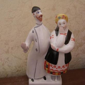 Дьяк и Солоха. Киев