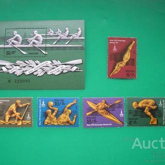СССР 1978 Спорт олимпиада MNH