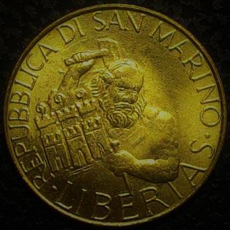 Сан-Марино 200 лир 1994 год ОТЛИЧНЫЙ СОХРАН!!!