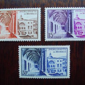 Монако.1952г. Архитектура. Полная серия. MNH