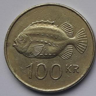 Ісландія Исландия 100 крон 1995