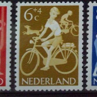 Нидерланды 1962 помощь детям