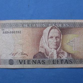 Литва 1 лит 1994 год