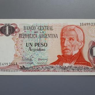 1 песо, Аргентина, 1983 рік