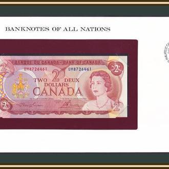 Канада 2 доллара 1974 P-86 (86a) UNC