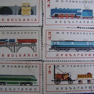 Ж/д транспорт Болгария