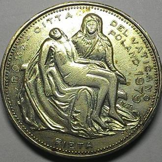 Ватикан медаль 1979 год дм 37 мм.