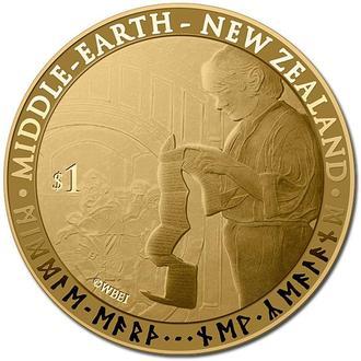 1 доллар Новая Зеландия 2012 (Хоббит)