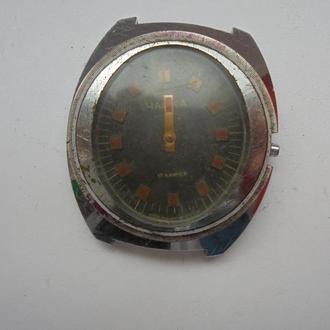 Наручные часы Чайка механические, (№678).
