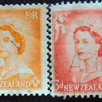 Новая Зеландия 1954г