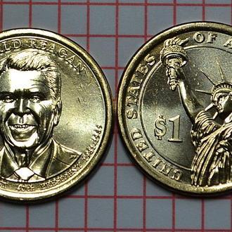1 доллар, 40 президент США Рональд Рейган, 2015 г