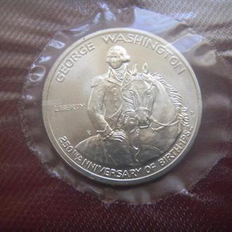 США 1/2 доллара/50 Центов 1982 D Серебро Джордж Вашингтон