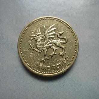 Великобритания 1 фунт 2000