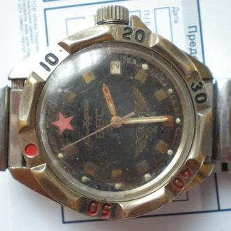 часы Восток Командирские рабочий баланс 020422
