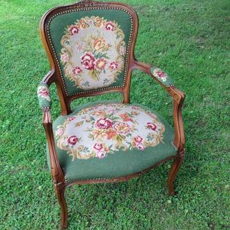 Кресло вышивка Германия