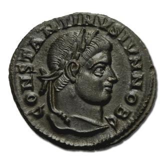 (А)3360 - Константин II (337—340 г.) Фоллис - aUNC