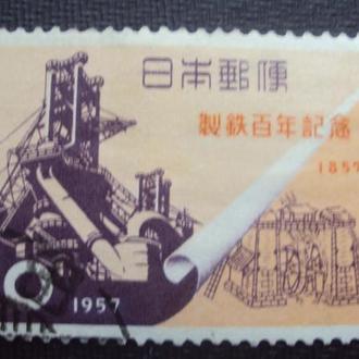Япония 1957г.гаш.