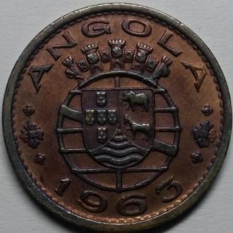 Ангола 1 эскудо 1963 год СОСТОЯНИЕ!!!