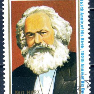 КНДР. Маркс (серия) 1982 г.