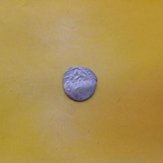 Неопределенная арабская монета. Серебро