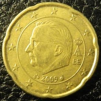 20 євроцентів 2009 Бельгія
