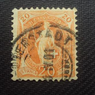 Швейцария 1882г.
