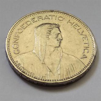 5 франков 1997, Швейцария